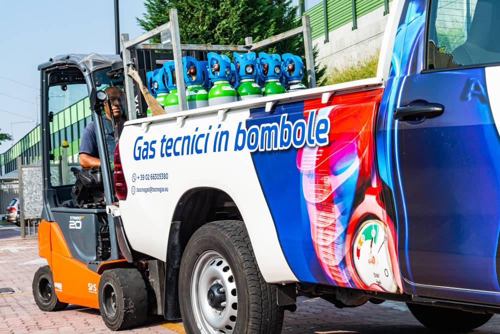 bombole gas tecnici milano